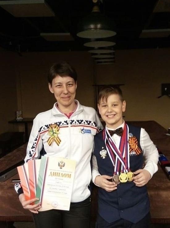 Юный новоуренгоец стал семикратным чемпионом России по снукеру