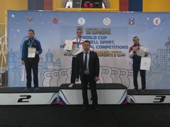Мастер спорта из Забайкалья завоевал бронзу на кубке мира