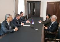 Посол Кубы и волгоградский губернатор обсудили двустороннее сотрудничество