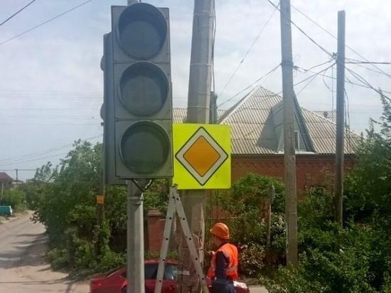 Новые светофоры появились на перeкрестке Фонтанной и Продольной