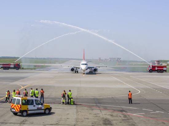 В уфимском аэропорту встретили первый рейс Buta Airways