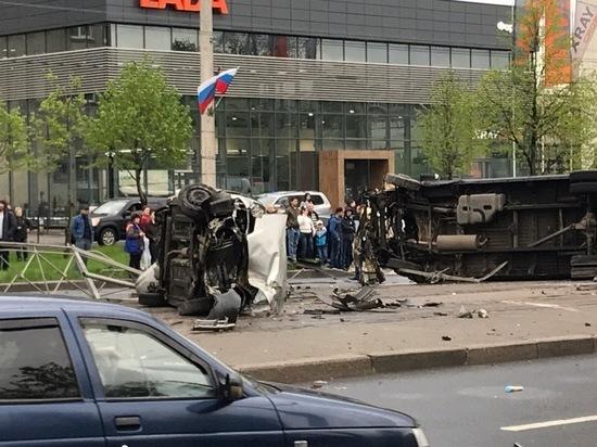 Автостраховщики назвали май самый «аварийным» месяцем в Петербурге