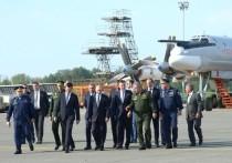 Путину в Казани показали ракетоносцы «Белый лебедь»