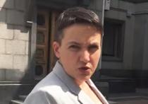 Савченко, защищая Зеленского, принесла наручники спикеру Рады