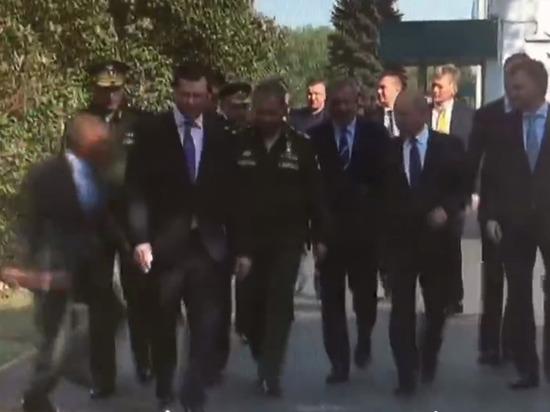 Глава Татарстана сделал пробежку, чтобы оказаться рядом с Путиным
