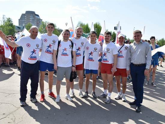 Спортсмены Чувашии присоединились к акции Российского союза боевых искусств «Эстафета Победы — 2019»