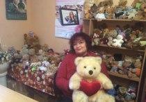 Жительница Советска собрала коллекцию из 400 плюшевых медвежат