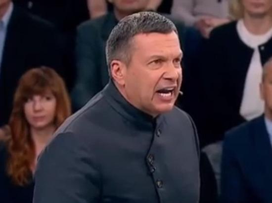 Соловьев выгнал из студии украинского эксперта, поспорив о Бандере