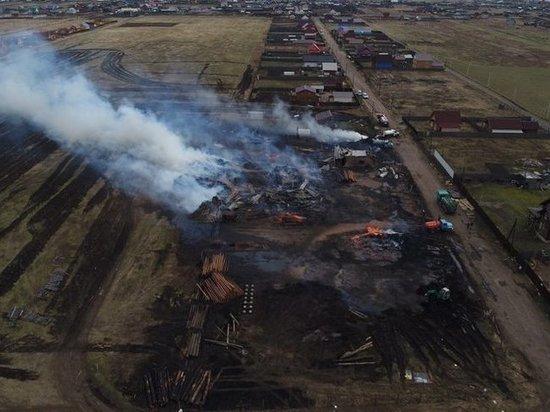 Правительство Иркутской области отказалось объявлять пожарную ЧС