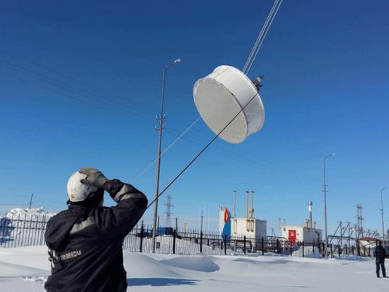 На Ямале ликвидировали радиорелейную линию Салехард — Надым
