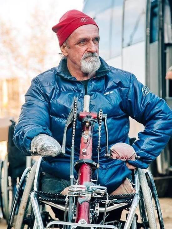 В Ярославскую область приехал путешественник без рук и ног