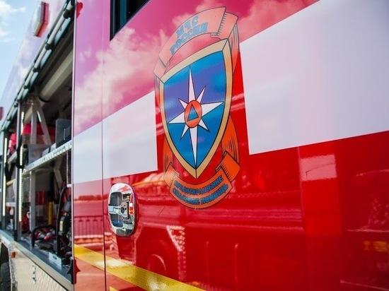 В Волгоградской области из-за короткого замыкания сгорела иномарка