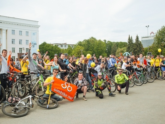 Вместе с марафоном в Ульяновске пройдет велопарад
