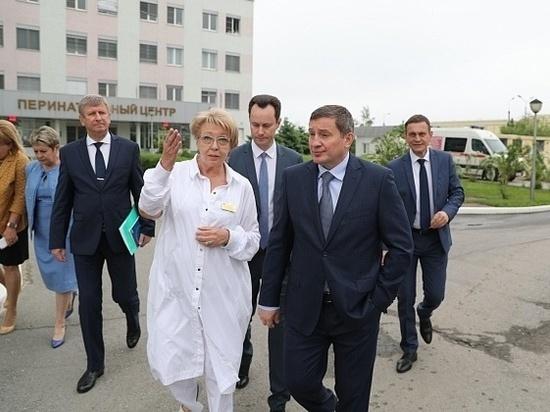 Андрей Бочаров поставил новые задачи по поддержке материнства и детства