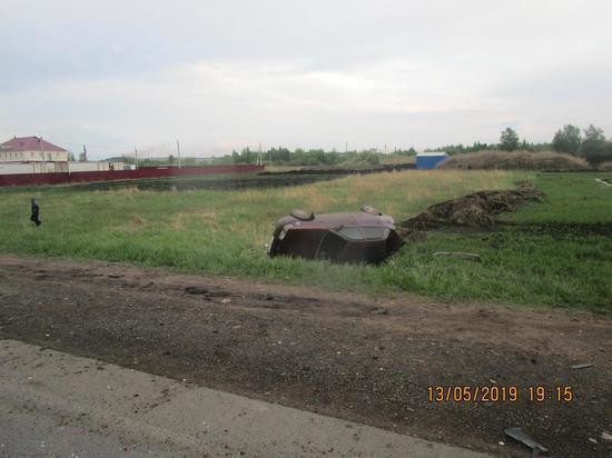 В Саранске пьяный автомобилист пострадал в устроенном им ДТП