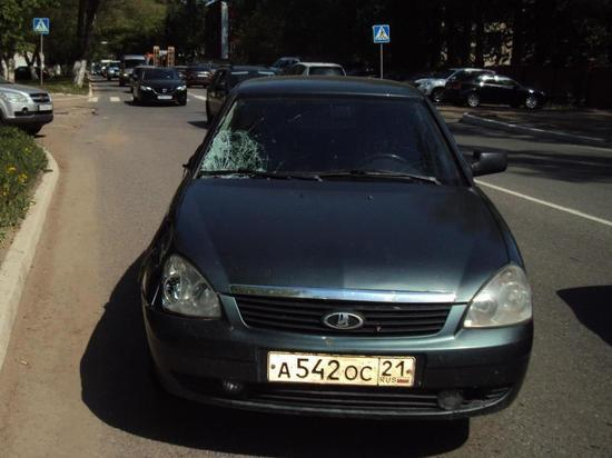 В Саранска молодая девушка попала под машину на «зебре»