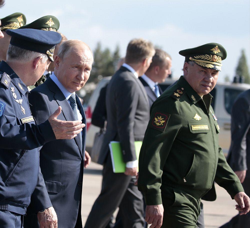 Путина в Ахтубинске встречали даже суслики: умилительные кадры