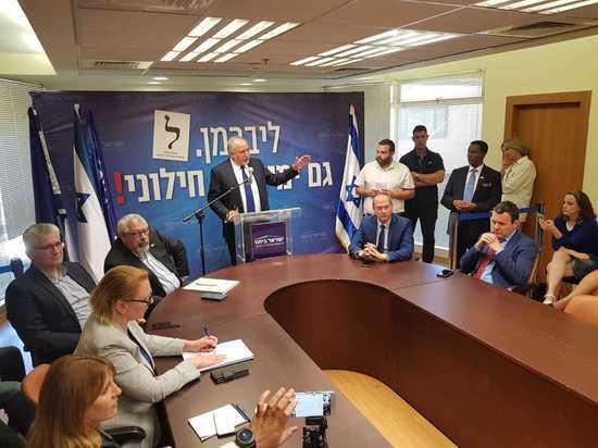 Либерман выдвинул условия вхождения НДИ в коалицию