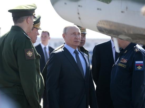Путину впервые показали секретное оружие: журналистам снимать запретили