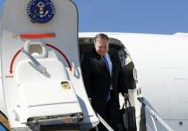 Помпео в Сочи сопровождала американская военная авиация