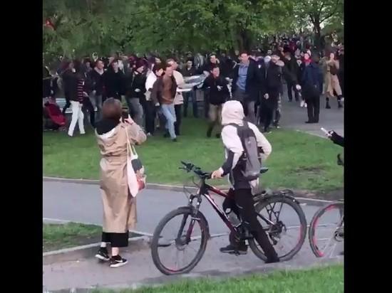 В Екатеринбурге задержаны более 10 человек, есть пострадавшие