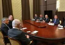 Путин предложил Помпео заново рассмотреть контроль над вооружениями