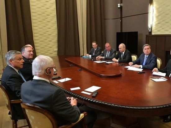 Стали известны детали диалога президента России с госсекретарем США