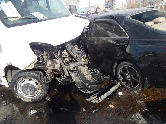 Пострадавшая в ДТП с маршруткой женщина умерла в больнице Читы