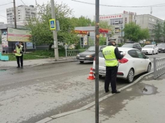 В Екатеринбурге водитель Kia Ceed сбил на пешеходном переходе 7-летнюю девочку