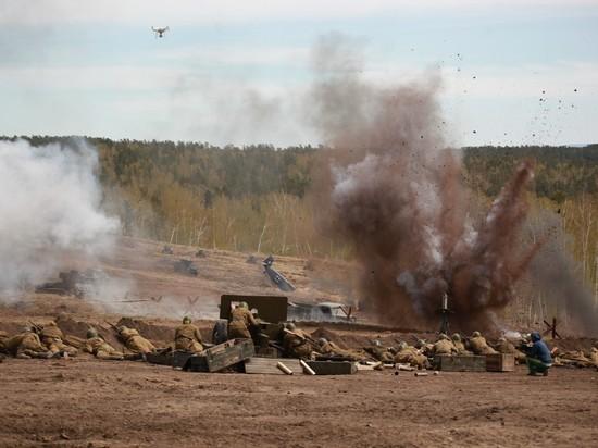 На мусорном полигоне под Иркутском произошло танковое сражение