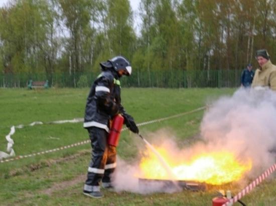 В Калуге выберут лучших юных пожарных