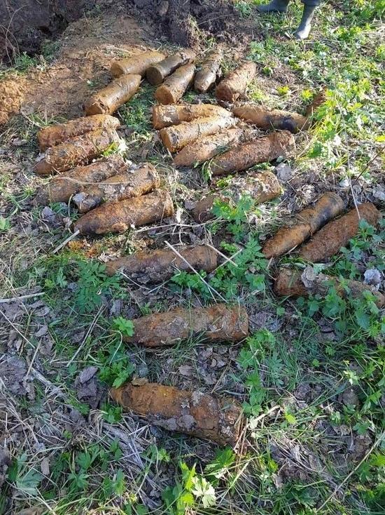 В Ярославской области нашли склад снарядов времен второй мировой войны