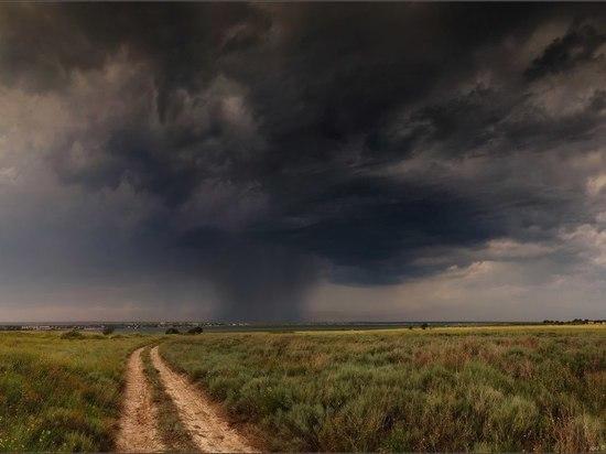 На Ульяновскую область надвигаются штромовой ветер и грозы