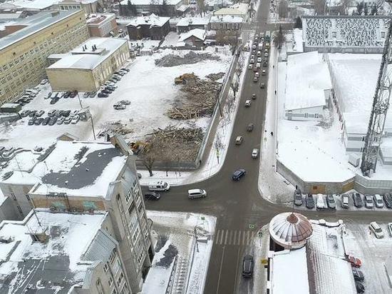 На месте снесенных старинных домов в центре Красноярска появятся жилые высотки