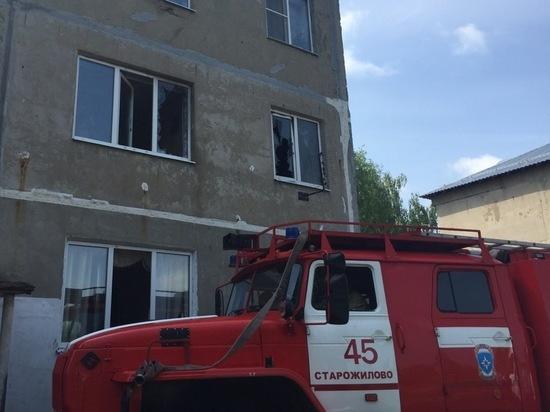 В Рязанской области мужчина убил бывшую жену, поджег квартиру и покончил с собой
