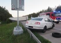 Германия: водитель из Беларуси замешан в ДТП с уроном на 170.000 евро