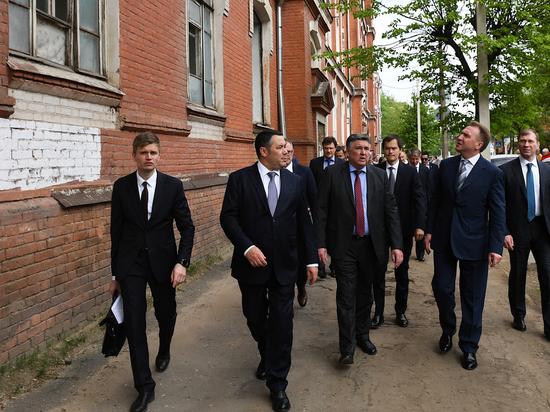 Тверскую область посетила команда институтов развития