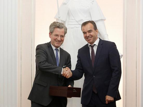 Кондратьев предложил фирме Bosch перенести логистический центр на Кубань