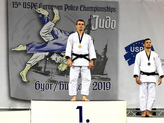 Воронежец стал чемпионом Европы по дзюдо среди полицейских
