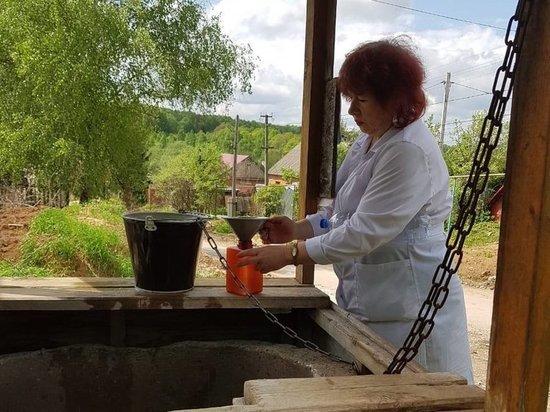 В Туле проверяют качество колодезной воды