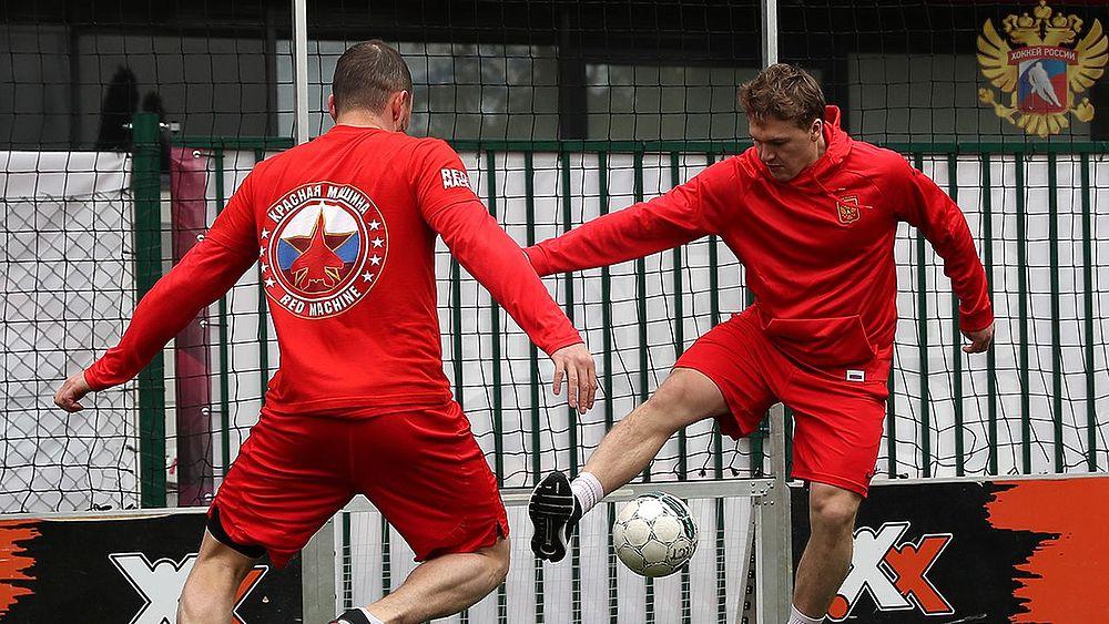 Капризов в клетке: как сборная тренировалась перед игрой с Италией