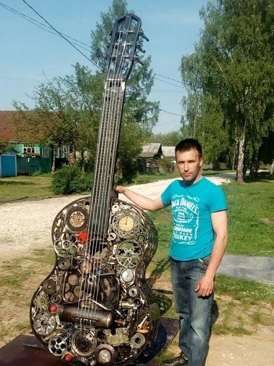 Необычный памятник гитаре появится в Калуге