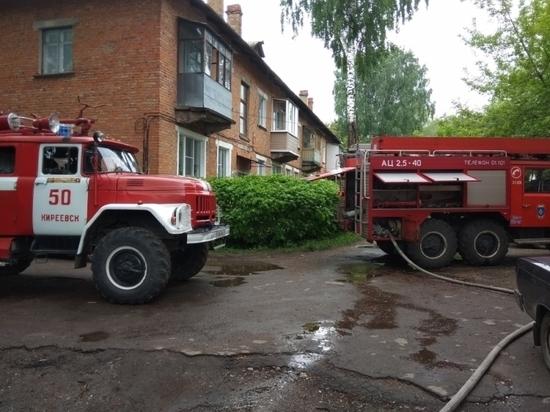 Следователи проверят обстоятельства гибели мужчины на пожаре в Киреевске