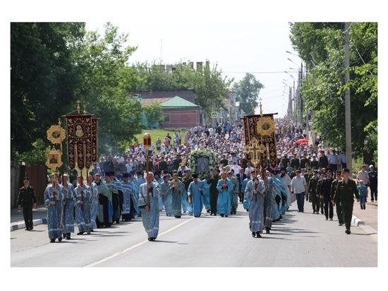В Серпухове состоится крестный ход с иконой «Неупиваемая Чаша»