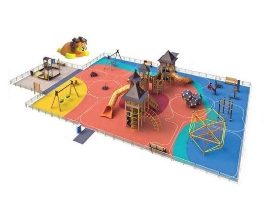 В Серпухове установят пять новых игровых площадок для детей