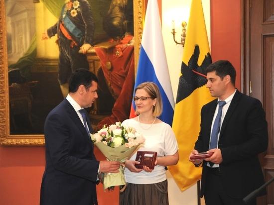 Дмитрий Миронов вручил медаль «За верность родительскому долгу» ярославским  семьям