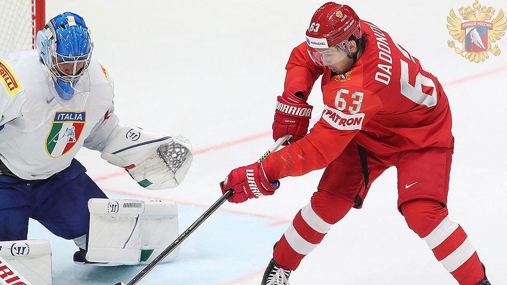 Забивают все, даже Овечкин: как сборная России громила Италию на ЧМ