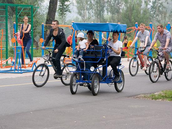 Велопрокат в Татышев-парке хотят сделать полностью муниципальным
