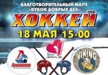 В Ярославле пройдет благотворительный хоккейный матч