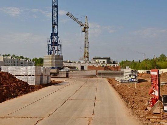 В Кирове начали строить новый детсад